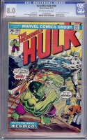 Incredible Hulk #180 CGC 8.0 ow/w