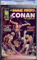 Savage Sword of Conan #3 CGC 9.8 ow/w