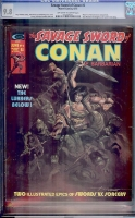 Savage Sword of Conan #6 CGC 9.8 ow/w