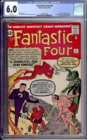 Fantastic Four #6 CGC 6.0 w