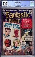 Fantastic Four #7 CGC 7.0 ow/w