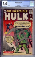 Incredible Hulk #6 CGC 3.0 ow