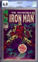 Iron Man #1 CGC 6.0 ow/w