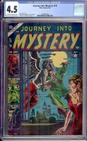 Journey Into Mystery #14 CGC 4.5 cr/ow