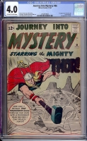 Journey Into Mystery #86 CGC 4.0 ow/w