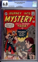 Journey Into Mystery #87 CGC 6.0 ow/w