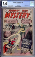 Journey Into Mystery #88 CGC 3.0 ow/w