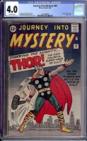 Journey Into Mystery #89 CGC 4.0 ow