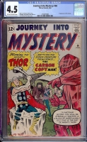 Journey Into Mystery #90 CGC 4.5 ow/w
