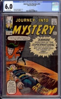 Journey Into Mystery #91 CGC 6.0 ow