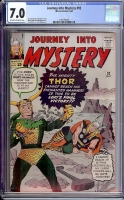 Journey Into Mystery #92 CGC 7.0 ow/w