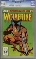 Wolverine Limited Series #4 CGC 9.8 w