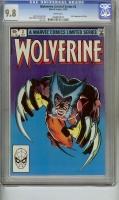 Wolverine Limited Series #2 CGC 9.8 w