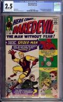 Daredevil #1 CGC 2.5 ow/w