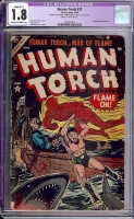 Human Torch #37 CGC 1.8 cr/ow