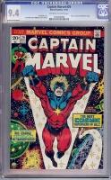 Captain Marvel #29 CGC 9.4 ow/w