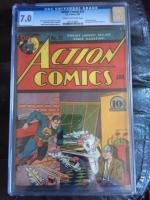 Action Comics #32 CGC 7.0 cr/ow
