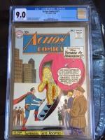 Action Comics #271 CGC 9.0 ow