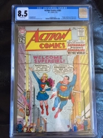 Action Comics #285 CGC 8.5 ow