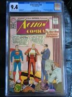 Action Comics #288 CGC 9.4 cr/ow