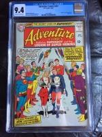 Adventure Comics #337 CGC 9.4 ow/w