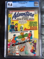 Adventure Comics #356 CGC 9.6 ow/w