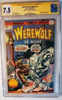 Werewolf By Night #32 CGC 7.5 ow/w CGC Signature SERIES