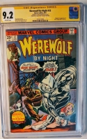 Werewolf By Night #32 CGC 9.2 ow CGC Signature SERIES