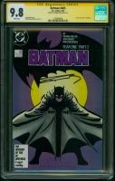 Batman #405 CGC 9.8 w CGC Signature SERIES