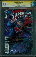 Superman Unchained #1 CGC 9.8 w CGC Signature SERIES