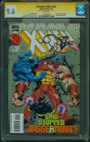Uncanny X-Men #322 CGC 9.6 w CGC Signature SERIES