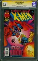 Uncanny X-Men #341 CGC 9.6 w CGC Signature SERIES