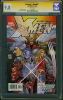 Uncanny X-Men #417 CGC 9.8 w CGC Signature SERIES