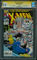 Uncanny X-Men #306 CGC 9.8 w CGC Signature SERIES