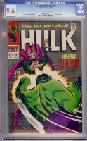 Incredible Hulk #107 CGC 9.6 ow/w
