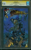 Darkness #1 CGC 9.6 w CGC Signature SERIES