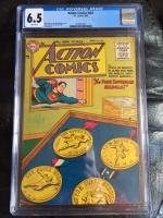 Action Comics #207 CGC 6.5 w