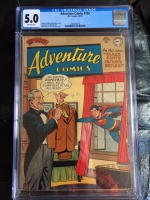 Adventure Comics #169 CGC 5.0 ow