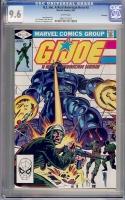 G.I. Joe, A Real American Hero #3 CGC 9.6 w Winnipeg