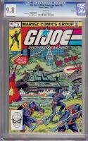 G.I. Joe, A Real American Hero #5 CGC 9.8 w Winnipeg