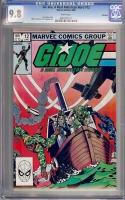 G.I. Joe, A Real American Hero #12 CGC 9.8 w Winnipeg
