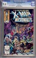 X-Men and the Micronauts #3 CGC 9.6 w Winnipeg