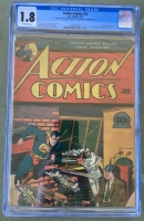 Action Comics #32 CGC 1.8 ow