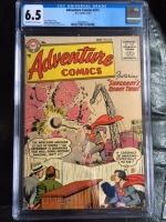 Adventure Comics #212 CGC 6.5 ow/w