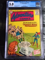 Adventure Comics #222 CGC 5.0 ow/w