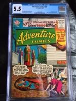 Adventure Comics #229 CGC 5.5 ow/w