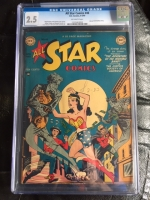 All Star Comics #46 CGC 2.5 ow