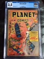Planet Comics #63 CGC 3.5 ow