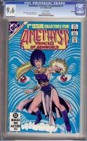 Amethyst, Princess of Gemworld #1 CGC 9.6 w Winnipeg