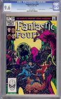 Fantastic Four #256 CGC 9.6 w Winnipeg